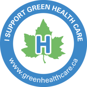 Victory's Kitchen is Proud to be part of Green Health Care!